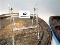 Silverplate Trays  (4)