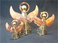 Angel Candleholder Set, Metal (3)