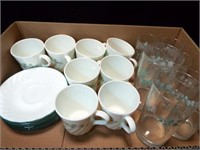 Corelle Callaway Ivy Dishes, Glasses (45+)