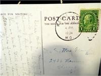 USA Postcards, 1934, 1941 (4)