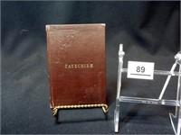 1922 Mennonite Church Catechism Book