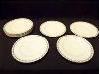 "Franconia Palladina Dinner Plates, 10.5"" (8)"