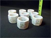 Lennox Village Napkin Rings, Holder (9)
