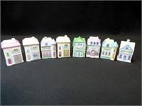Lennox Village Spice Jars, 1989 (8)