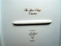 Lennox Village Canisters, 1992 (2)
