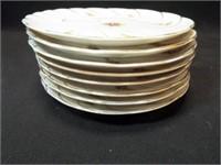 "China Snack Plates, 8"" (8)"