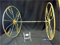 "Metal ""Wheel"" Piece"