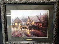 """G. Harvey, """"Country Post Office"""", framed"""