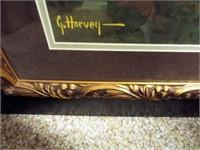"""G. Harvey, """"Bedrolls and Dreams"""", framed"""