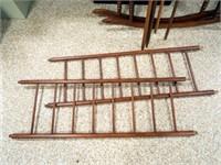 Antique Wood  Baby Cradle