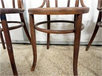 Wooden Chairs (4)