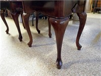 Wood End Tables - 2 matching