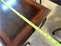 Accent Tables - 3 matching, 1 with glass