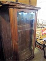 Wood Display Cabinet, Wood Shelves