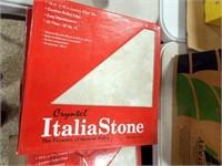 "Italia Stone Vinyl Tile, 12"" x 12"", 20 per box"