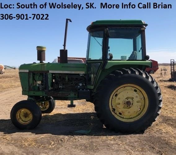JD4030 Tractor, Not Running, For Parts/Repair, Loc
