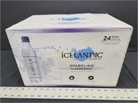 24pk. ICELANDIC GLACIAL Sparkling Water