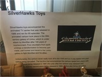LOT OF SILVERHAWKS TOYS