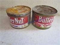 BUTTERNUT COFFEE CANS