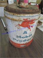 MOBIL OIL CAN