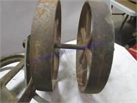 ENGINE CART WHEELS