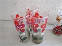 VINTAGE WATER GLASSES