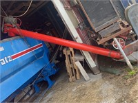 """8""""X13' AUGER WITH ELECTRIC MOTOR"""
