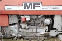 MASSEY FERGUSON 285 DIESEL TRACTOR - 4075 HOURS