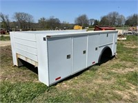14' KNAPEHIDE DUALLY SERVICE BED