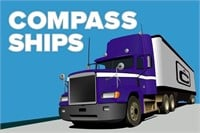 **COMPASS OFFERS SHIPPING**