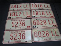 License Plate Collector Online Auction
