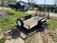 CIRCLE W 4'X8' TRAILER WITH GATE