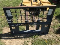 Front End Fork Attachment for Bobcat