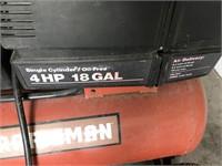 Crafts 4HP 18 Gal. Air Compressor