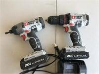 Porter Cable 20 Volt Impact Diver & Drill