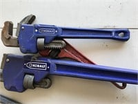"""3 Pipe Wrenches Two 14"""" & 1 24"""""""