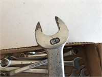 Standard Sized Open End Wrenches