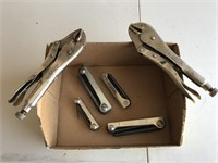 Vise Grips & Allen Wrenches
