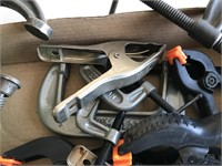 Large Selection of C Clamps