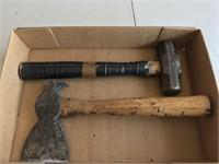 True Temper Roofing Hammer & 2 Pound Sledge Hammer