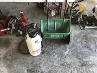 Scotts 1000 Seeder & Gilmore Bug Sprayer