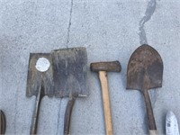 Selection of Yard Working Tools