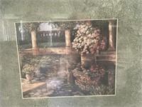 Victorian Garden Scene by Van Martian