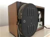 Vintage Wooden Philco Radio