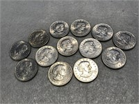 13 1979 Susan B. Anthony Dollar Coin