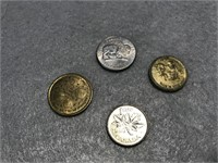 Various Assortment of US & Foreign Coins