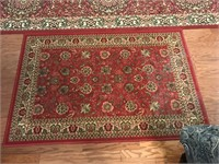 One Runner & One Small Area Rug