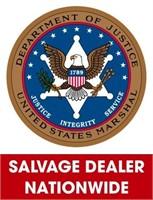 U.S. Marshals (Salvage Dealer Only) ending 4/26/2021