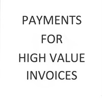 PLEASE READ: PAYMENT FOR HIGH $$$ SHIPMENTS