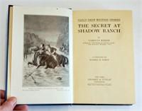 1931 Nancy Drew Secret Shadow Ranch Book 1st Ed DJ